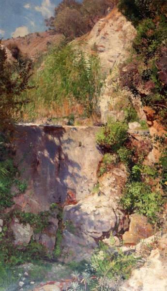 A Sunlit Gorge Palestina